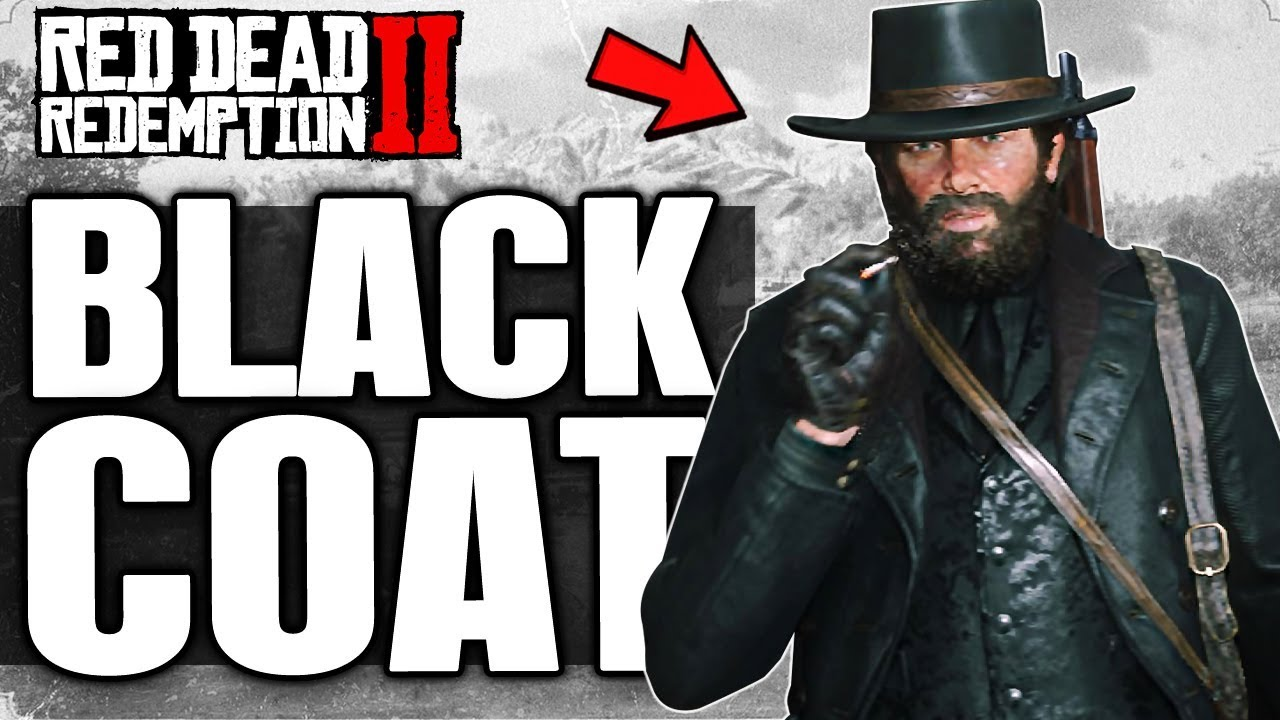 Red Dead Redemption 2 How To Dress Up Arthur In All Black Badass