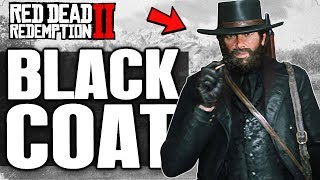 Red Dead Redemption 2 | How to dress up Arthur in All Black (Badass Mode) | RDR2