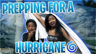 IM SCARED.  ft. pre-hurricane