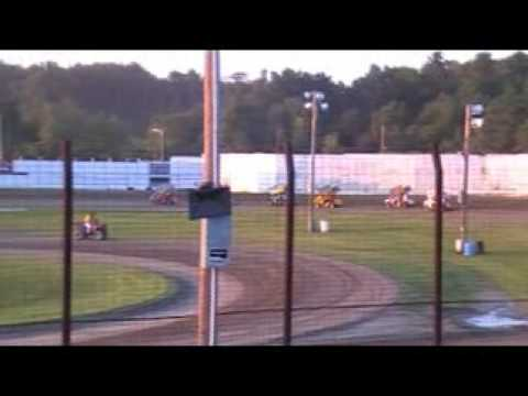 WHIP CITY SPEEDWAY : 600cc Feature Race 8/1/09