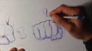 How to Draw a Fist - Easy Things To Draw