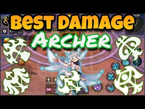 Who Is Best DAMAGE In Class Archer- Dragon Nest Mobile