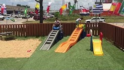 #Cars #Slide #Race #Kids #FUN AT THE RESTAURANT | DAILY DOSE OF DALLAS