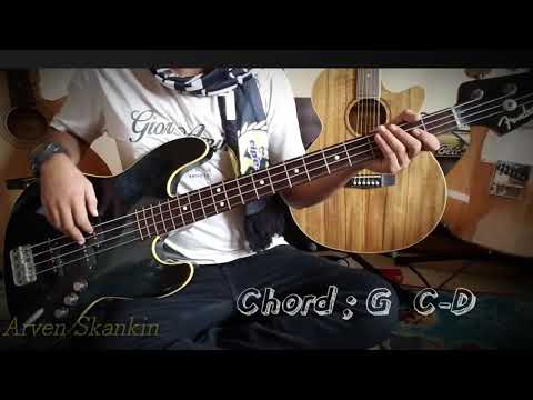 """Tipe-X _ Happy Birthday """" Bass Cover + Chord """""""