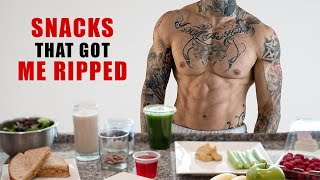 10 Healthy Snacks That Got Me RIPPED