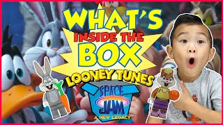 GUESS the Space Jam Looney Tune Lego!? What's inside the box Challenge!