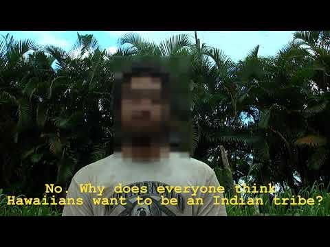 Ed Case Doesn't Listen: No Hawaiian Tribe!
