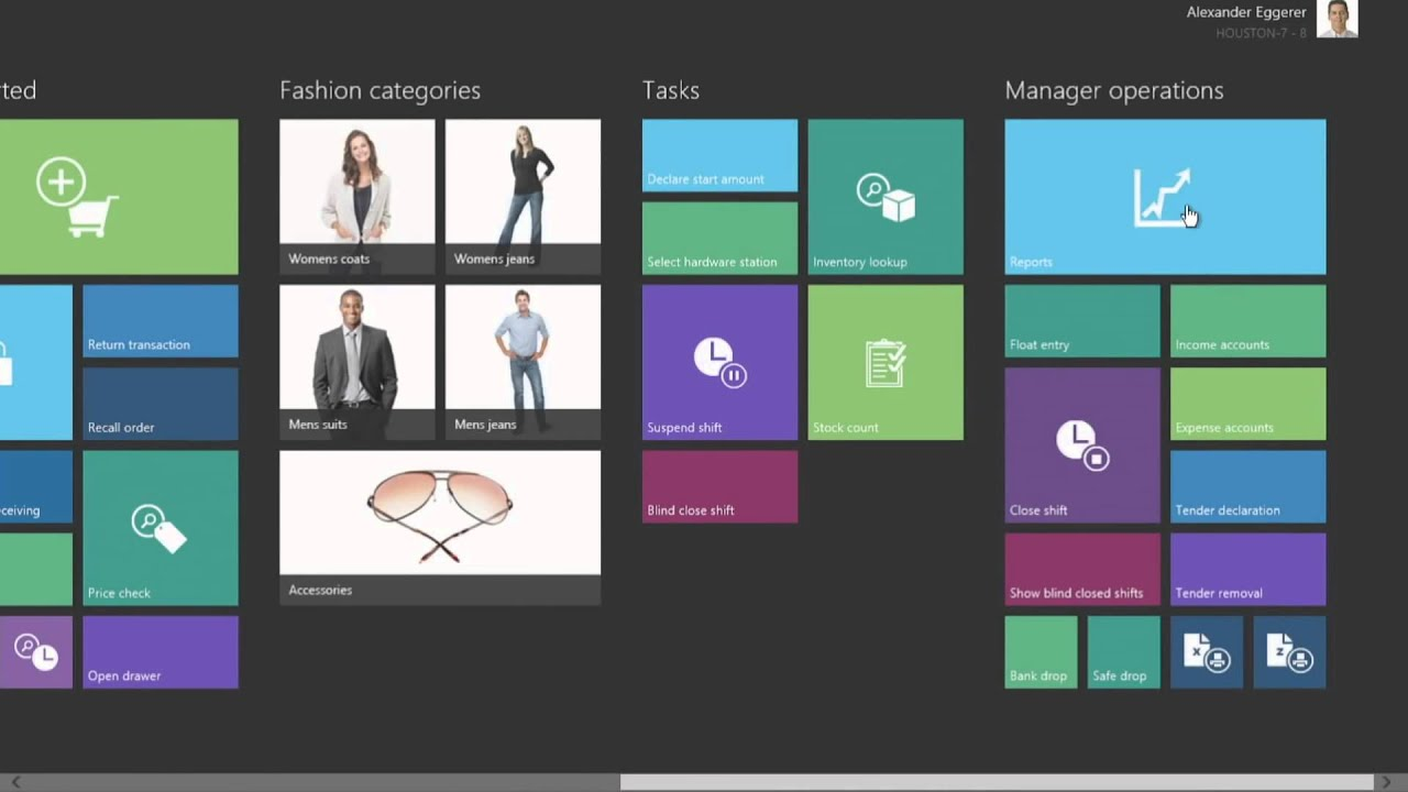 microsoft dynamics for retail modern point of sale