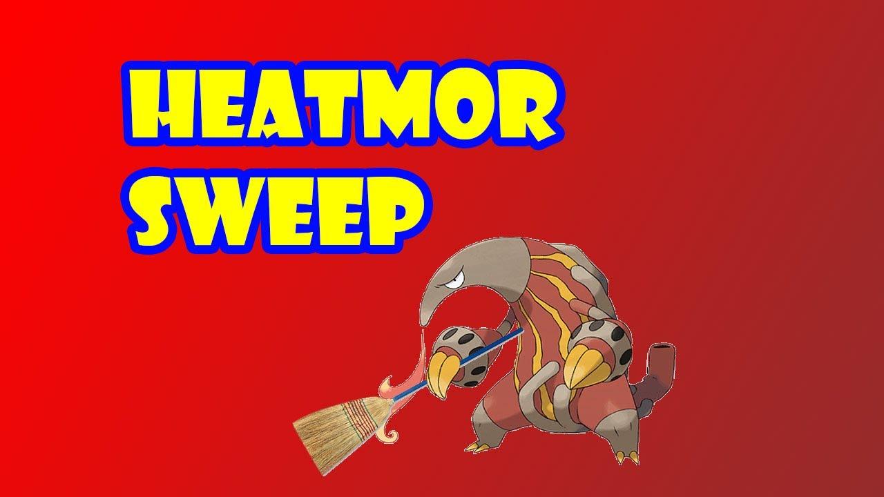 HEATMOR SWEEP! Pokemon Showdown Random Battle! - YouTube for Heatmor Pokemon  5lpkxo