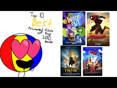 Isaac's Top 10 Best Animated Films Of The 2010 Decade!
