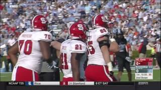 2016.11.25 NC State Wolfpack at North Carolina Tar Heels Football