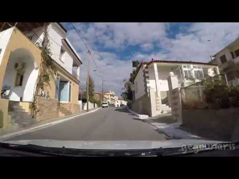 Lemnos island: From Moudros to Myrina by car