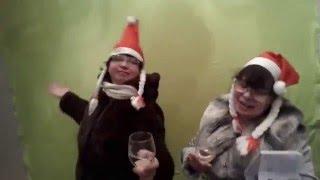 Женщина за 40. Съемки клипа к Новогоднему поздравлению блогеров. Юмор