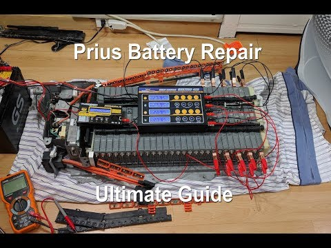 Hybrid Battery Repair Ultimate Guide (Toyota Prius 2nd Gen 2004-2009) DIY