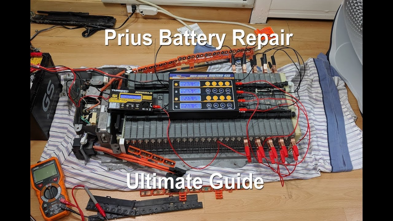 Hybrid Battery Repair Ultimate Guide  Toyota Prius 2nd Gen