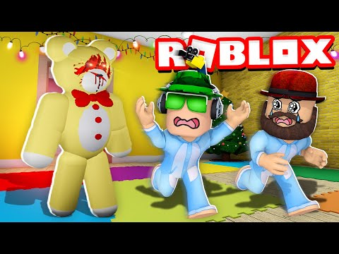 WE ARE BABIES and TEDDY KILLER BEAR ATTACKS US in ROBLOX |