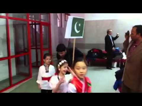 Almaty KIS school international parade
