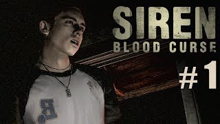 Siren: Blood Curse Part 1: Escape from the police officer | Gameplay Walkthrough (PS3 HD)