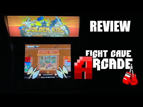 Arcade1UP Golden Axe The Revenge of Death Adder quick review from Combat and Collecting