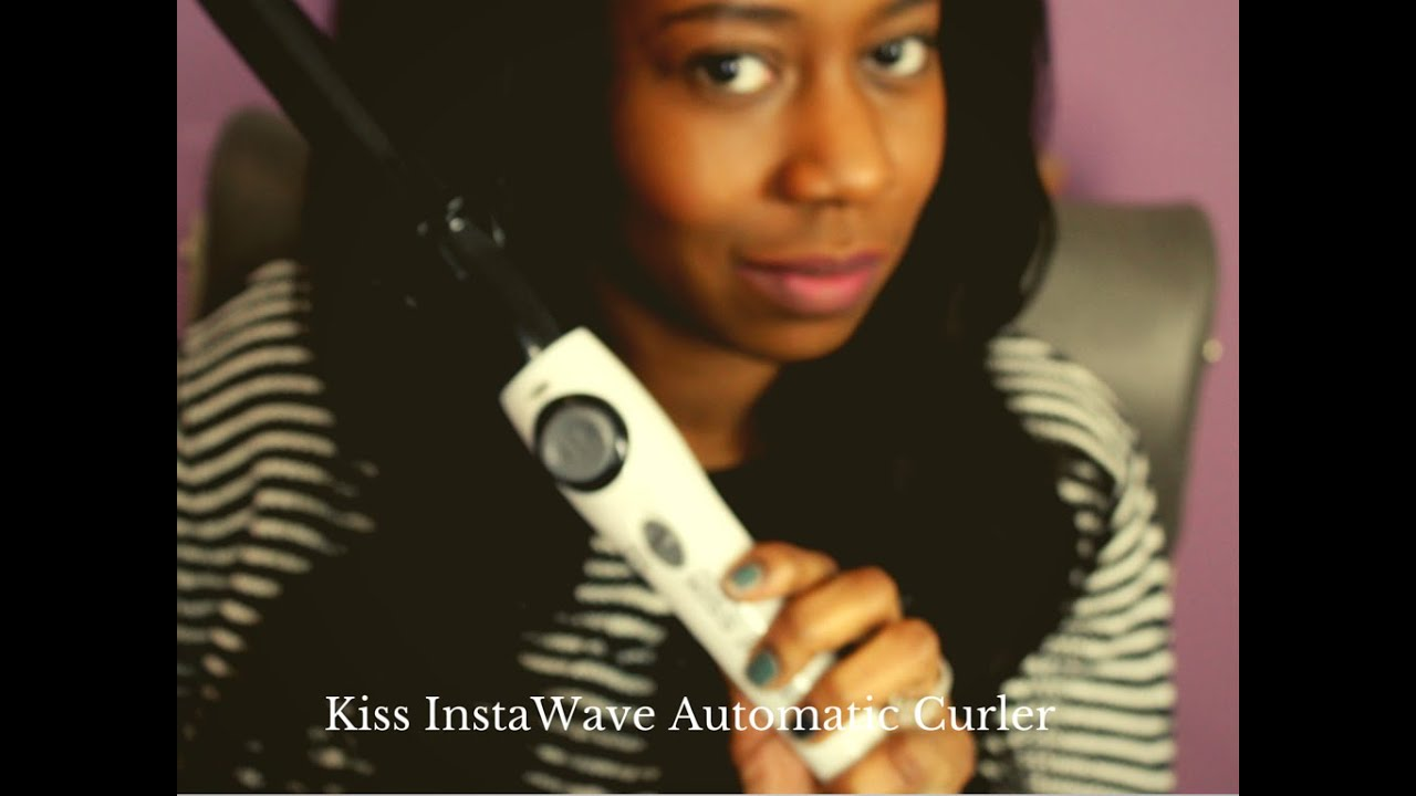 Instawave Automatic Curler As Seen On Tv Hair Tool First Impressions Demo Kay S Ways You