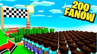 100 WIDZÓW VS TOR ŚMIERCI  | Minecraft SkyBlock S3 #15