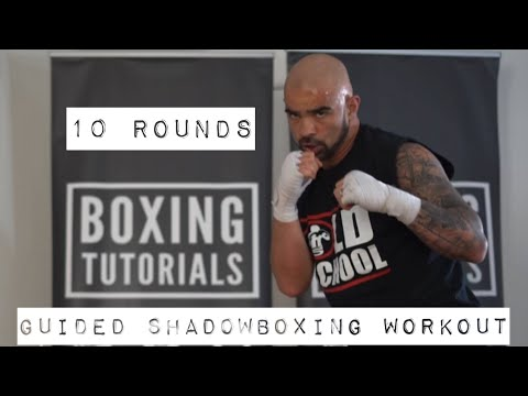10 ROUNDS GUIDED SHADOWBOXING WORKOUT
