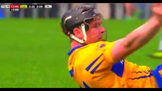 Last Few Minutes Of Clare v Waterford Replay - 2016 Hurling League Final