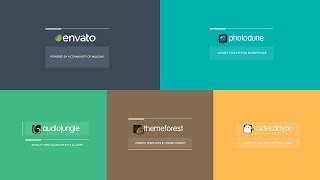 After Effects Template - Corporatica Logo