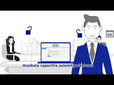 Projektin raportointi - Business Finland