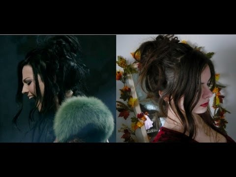 evanescence my heart is broken hairstyle   youtube