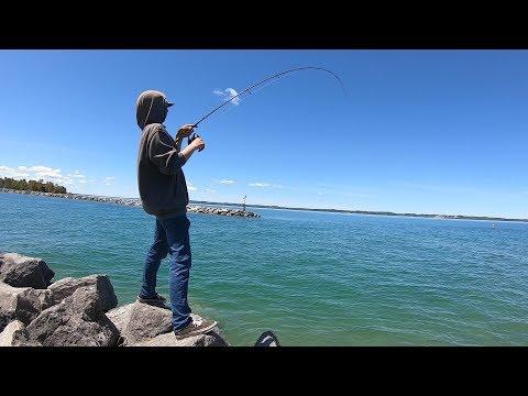 Tube Fishing Grand Traverse Bay Michigan