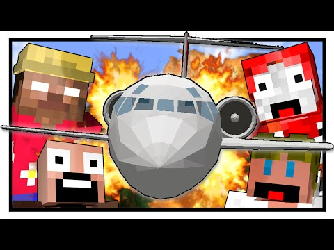 Thumbnail: Lost Island - PLANE CRASH! (Minecraft Machinima) #1