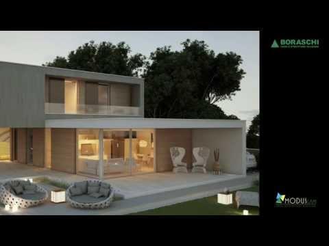 Ville prefabbricate a struttura portante di legno by ecodimora for Case in legno autorizzazioni