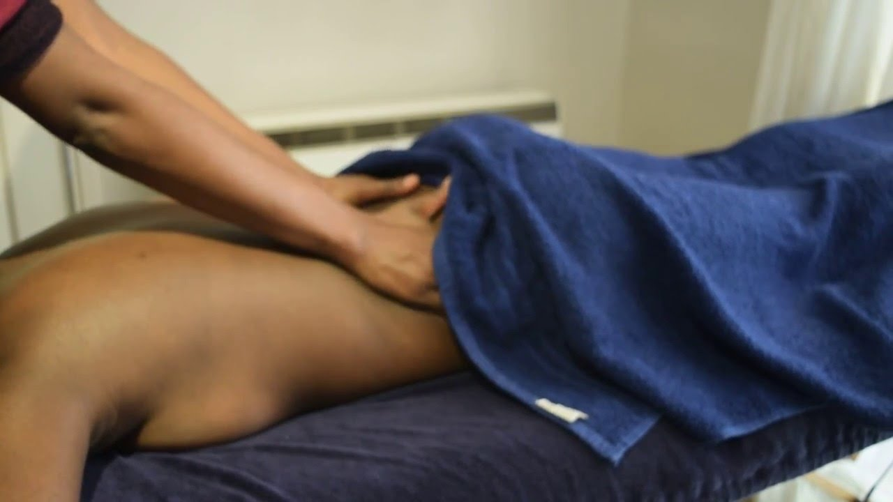 Full Body Massage Therapy Techniques, How To Give Back -8537