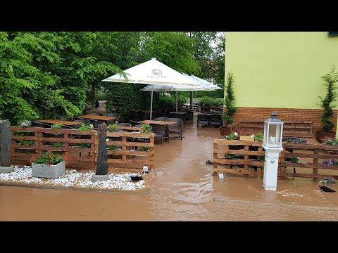 Unwetter in Nordhessen: Überflutungen rund um Kassel