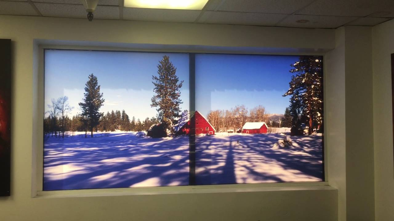 PROLAB Digital WindowScapes Transforms any window into