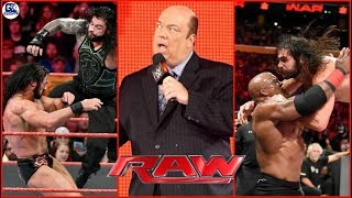 Brock Defend by Paul | No.1 Contender | WWE Raw 07/16/2018 Highlights | Raw Night July 16