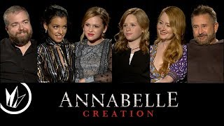 Annabelle: Creation: Sit Down with the Stars feat. Matthew Hoffman – Regal Cinemas [HD]