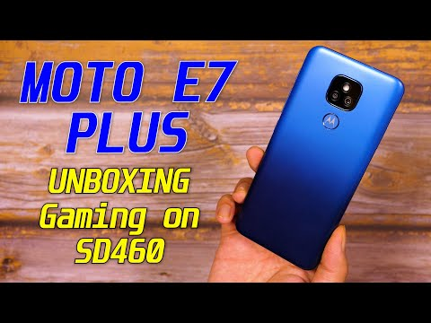 Motorola E7 Plus India Unboxing, Quick Review: SD460 Gaming | 48MP Camera Under 10K! [Hindi]