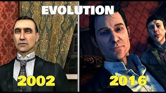 The Evolution of Sherlock Holmes Games