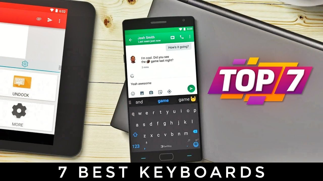 Top 7 Keyboards For Android & iOS 2018