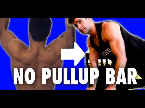 Don't Have A Pull-Up Bar? | Can't Do Pull-Ups? | Instant Solution