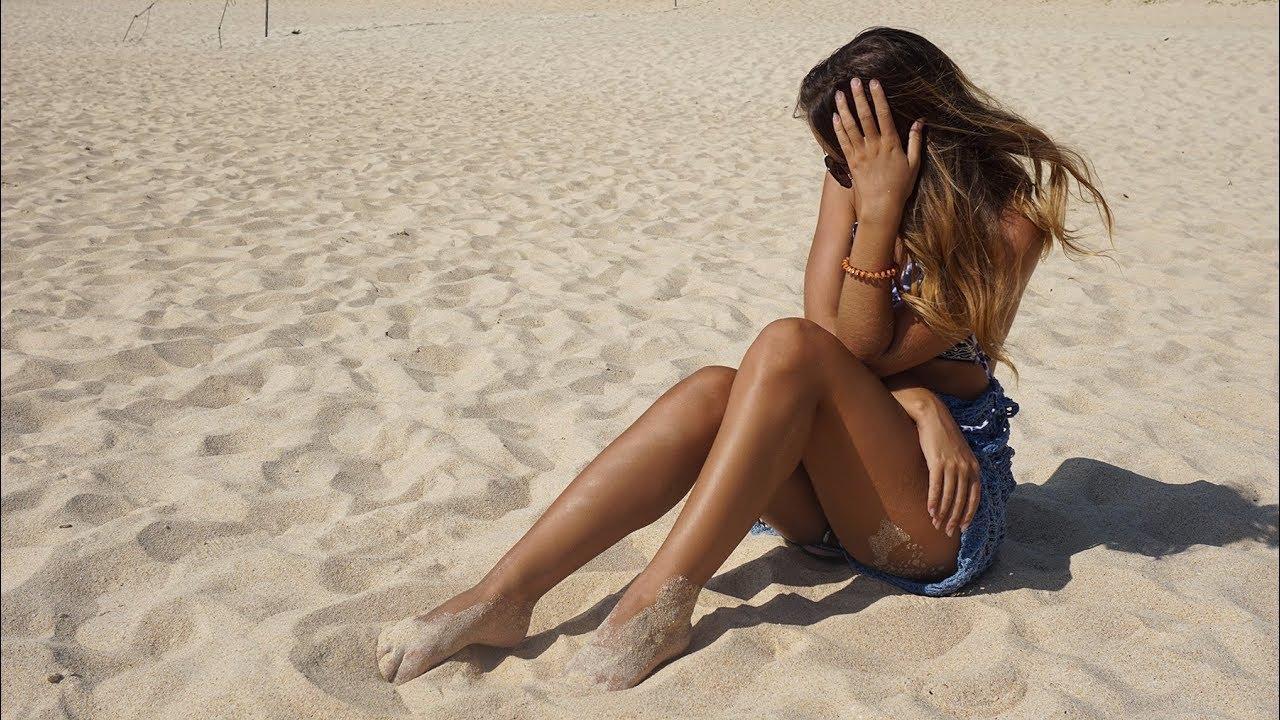 Транс на пляже сосет — photo 13
