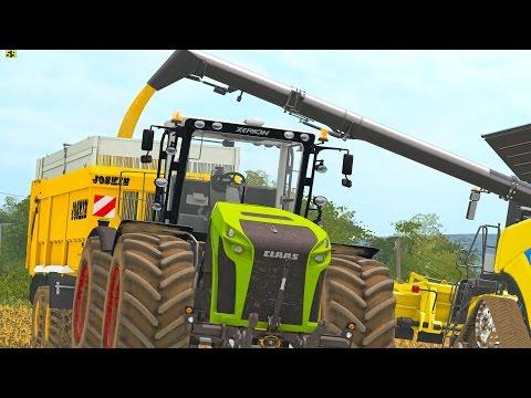 Corn Harvesting in United Kingdom