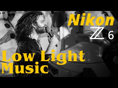 Nikon Z6 • Low Light Music Photography