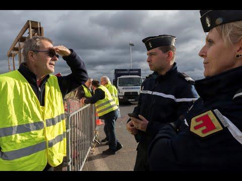 فرنسا: نشر 89 ألف رجل أمن لمواجهة المتظاهرين  - 09:55-2018 / 12 / 7