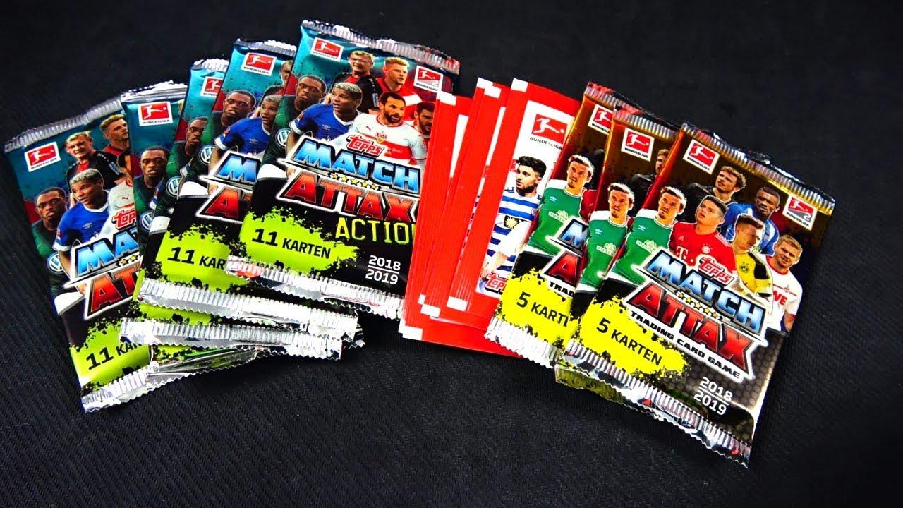 Bundesliga Fussballkarten Sticker Pack Opening 2019 Deutsch German