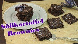 GLUTENFREIE BROWNIES BACKEN | gesunde SÜßKARTOFFEL BROWNIES [ohne Zucker & ohne Mehl] selber machen