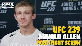 UFC 239: Arnold Allen Thinks He May Have Retired Gilbert Melendez - MMA Fighting
