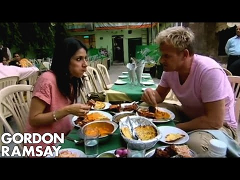 Real Indian food in Delhi – Gordon Ramsay